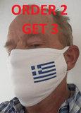Mondmasker Griekse Vlag_