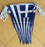 Greek Flag String_