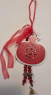 Kerstdecoratie Granaatappel/Ρόδι