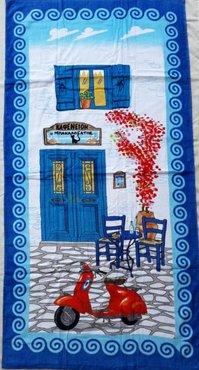 Strandhanddoek Taverne-set