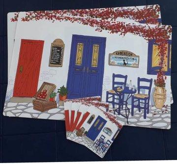 Placemat set Taverne-set