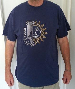 T-shirt zuil/zon