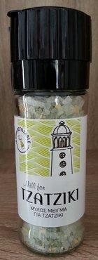 Zeezout-molen met mix voor Tzatziki