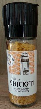 Zeezout-molen met mix voor Kip