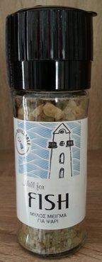 Zeezout-molen met mix voor Vis