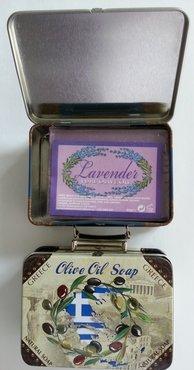 Koffertje Lavendelzeep