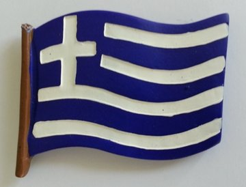 Magnet Greek Flag