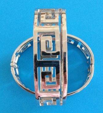 Armband Meandros (nikkelvrij)