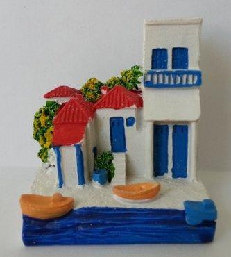 Miniatur Griechisch Haus