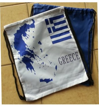 Backpack Greek Flag