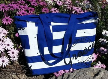 Bag Greek Flag Blue
