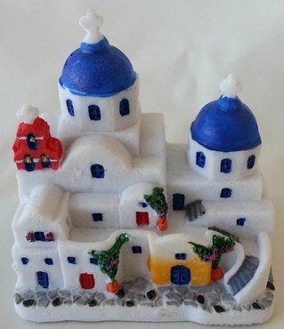 Miniatur Griechische Kirchen