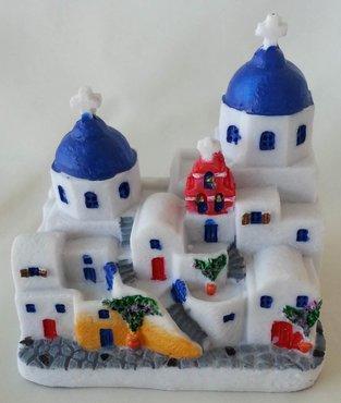 Miniatuur Griekse Kerkjes