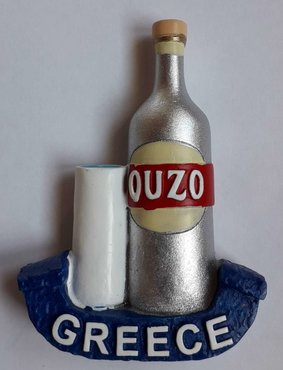 Magneet Ouzo