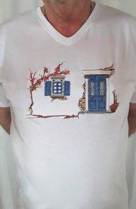 T-shirt Griekse Deur