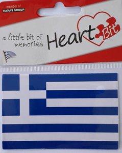 Sticker Vlag Griekenland