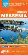 Landkaart Messinia