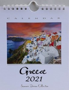 Kalender 2021 Greece Medium