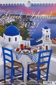 Kalender 2021 Greek Islands