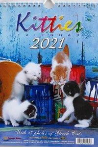 Kalender 2021 Greek Kitties