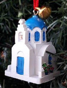 Kerstdecoratie Kerkje
