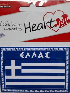 Sticker Vlag Ellas