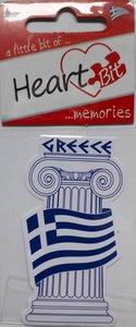 Sticker Zuil Greece