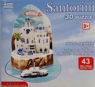 3D-Puzzle Santorini
