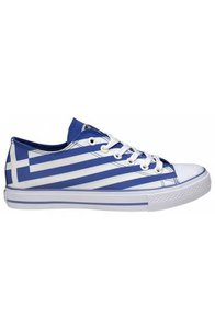 """Artshoes Sneakers Design """"Greek Flag"""""""