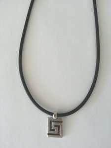 Collier Meandros Vierkant