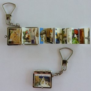 Key Ring Cats Of Greece