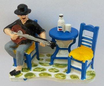 Miniatuur Bouzoukispeler