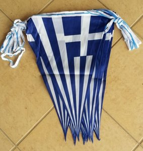Greek Flag String