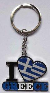 Sleutelhanger I Love Greece