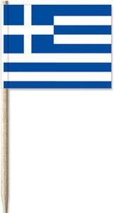 Cocktailprikkers Griekse Vlag