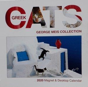 Magnet Calendar Cats 2020