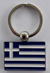Schlüsselanhänger Griechische Fahne
